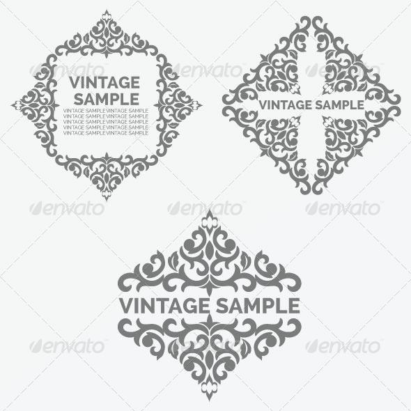 GraphicRiver Vintage Frame 42 5882332