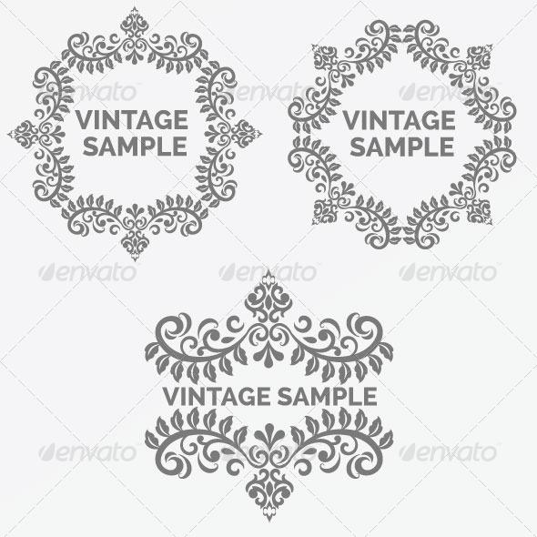 GraphicRiver Vintage Frame 46 5882347