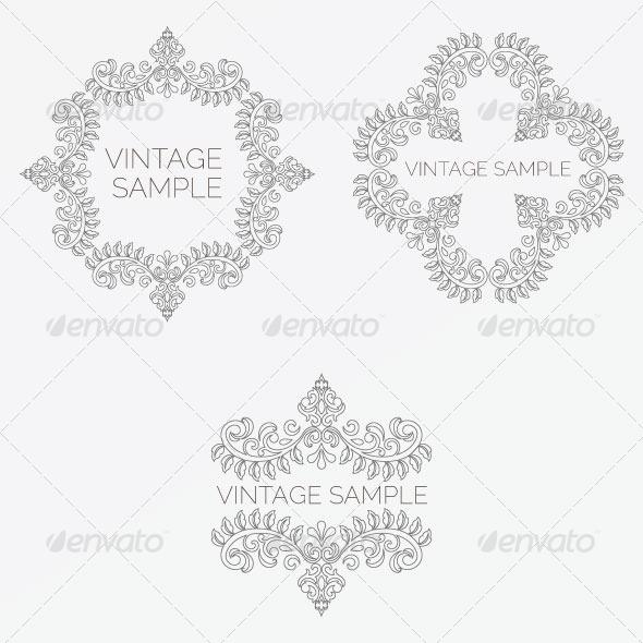 GraphicRiver Vintage Frame 47 5882350