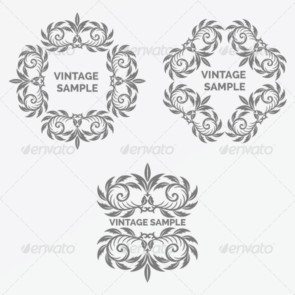 GraphicRiver Vintage Frame 50 5882356
