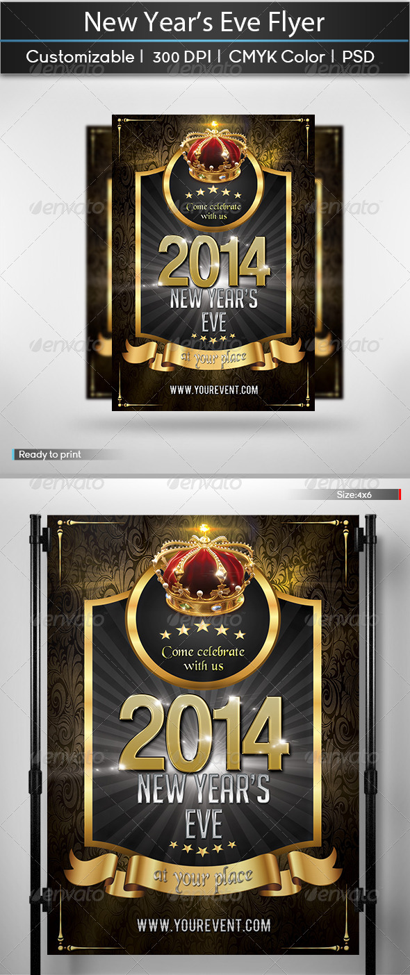GraphicRiver New Year s Eve Flyer 5882441