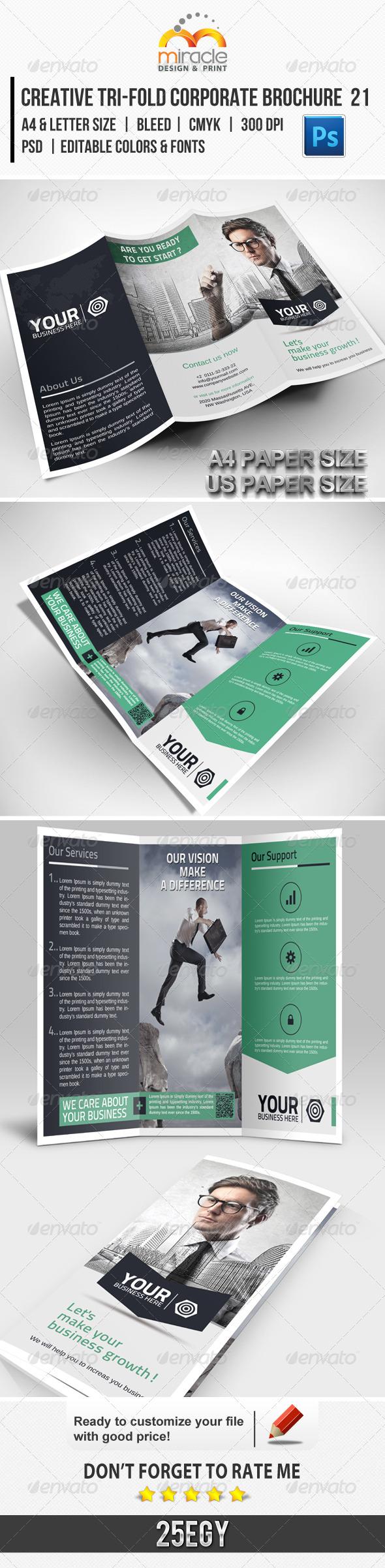 GraphicRiver Creative Tri-Fold Corporate Brochure 21 5882589