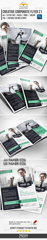 GraphicRiver Creative Corporate Flyer 21 5883244