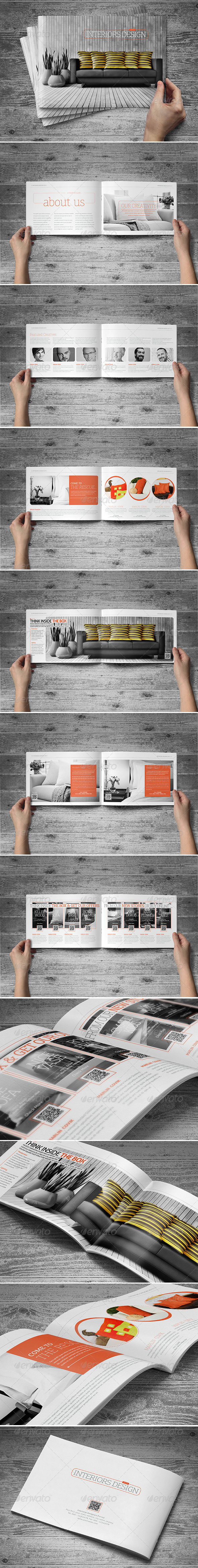 GraphicRiver A5 Booklet Catalogue Brochure 5883291