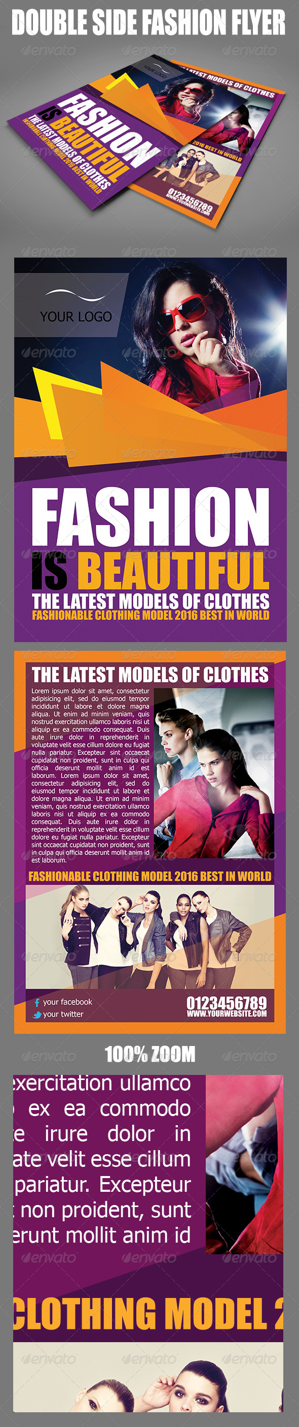 GraphicRiver Fashion Product Flyer 5883454