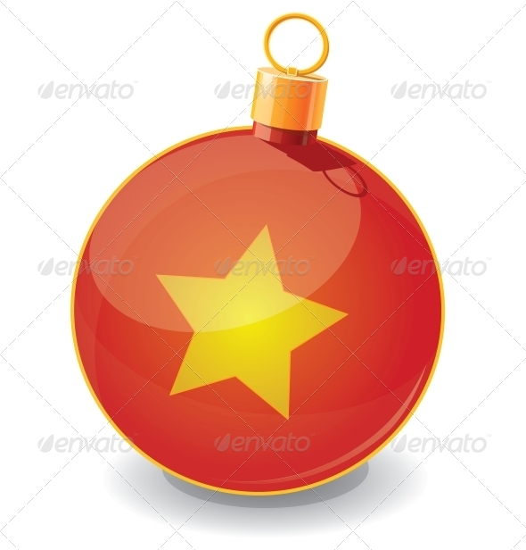 Christmas Toy Ball Icon