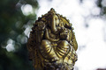 Ganesha Statue And Bokeh