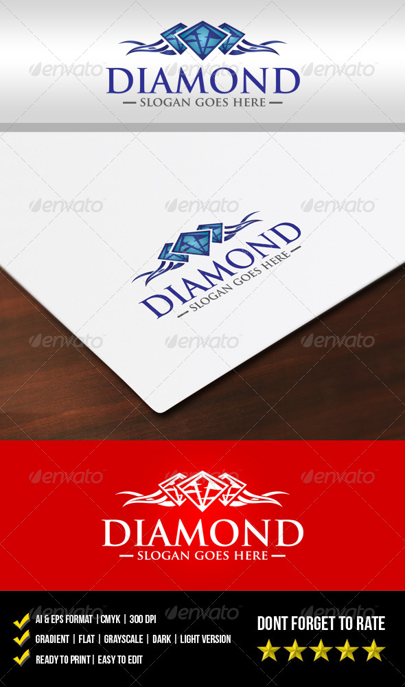 GraphicRiver Diamond Logo 5852348