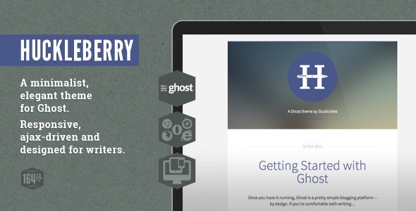 ThemeForest Huckleberry Ghost Theme 5884584