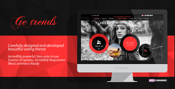 ThemeForest GE Trends- Responsive Voting WordPress Theme 5884021