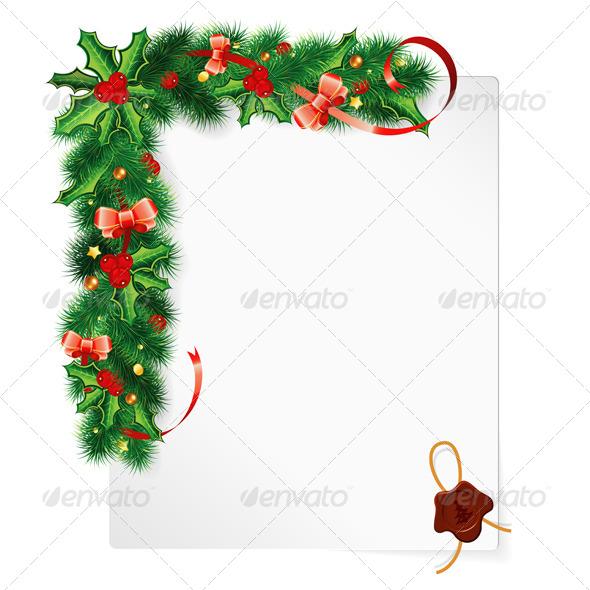GraphicRiver Christmas Frame 5884944