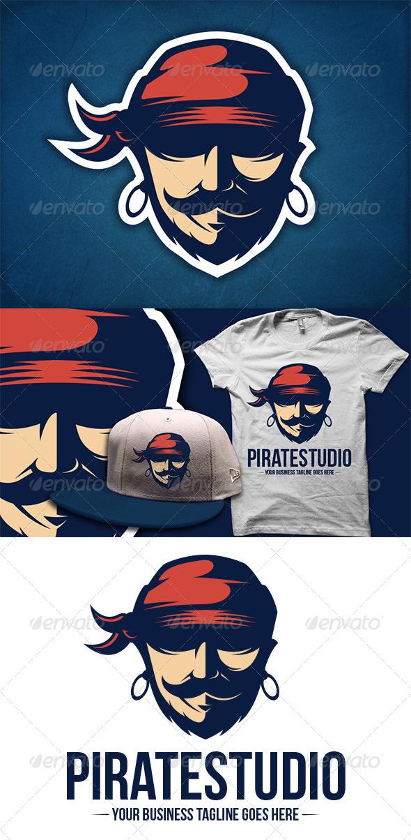 GraphicRiver Pirate Logo Template 5884985