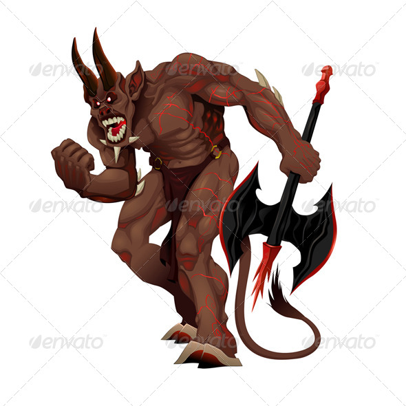 GraphicRiver Angry Demon 5885292