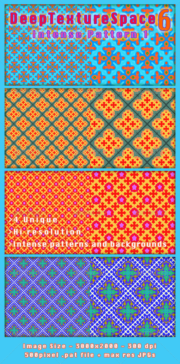 GraphicRiver Bright Modern Abstract Pattern set 5885316