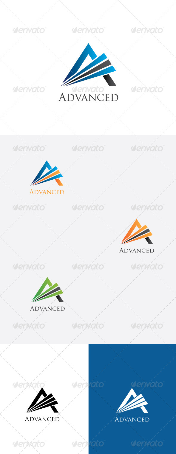 GraphicRiver A Latter Logo Template 5885479