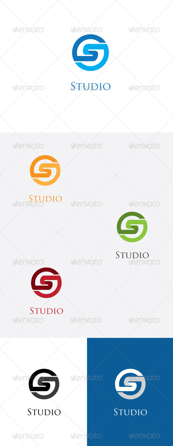 GraphicRiver S Latter Logo Template 5885955