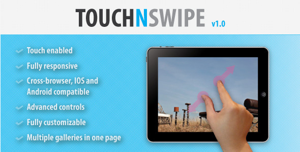 CodeCanyon Touch N Swipe Image Gallery 5886023