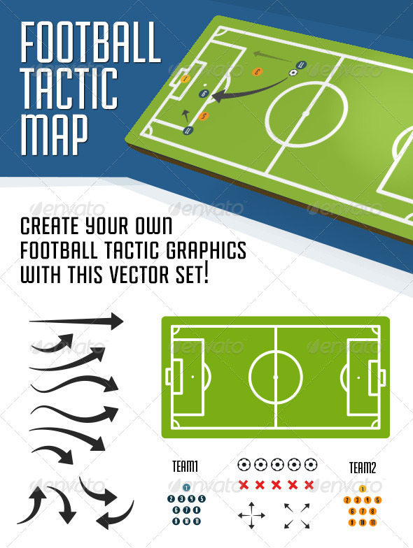 GraphicRiver Football Tactical Map 5886058