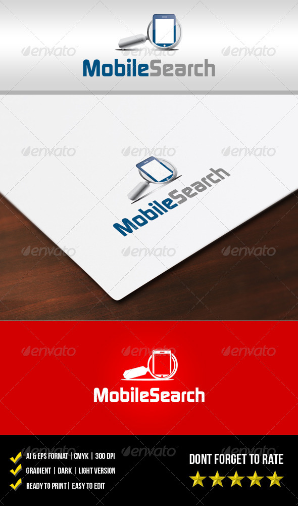 GraphicRiver Mobile Search Logo 5886205