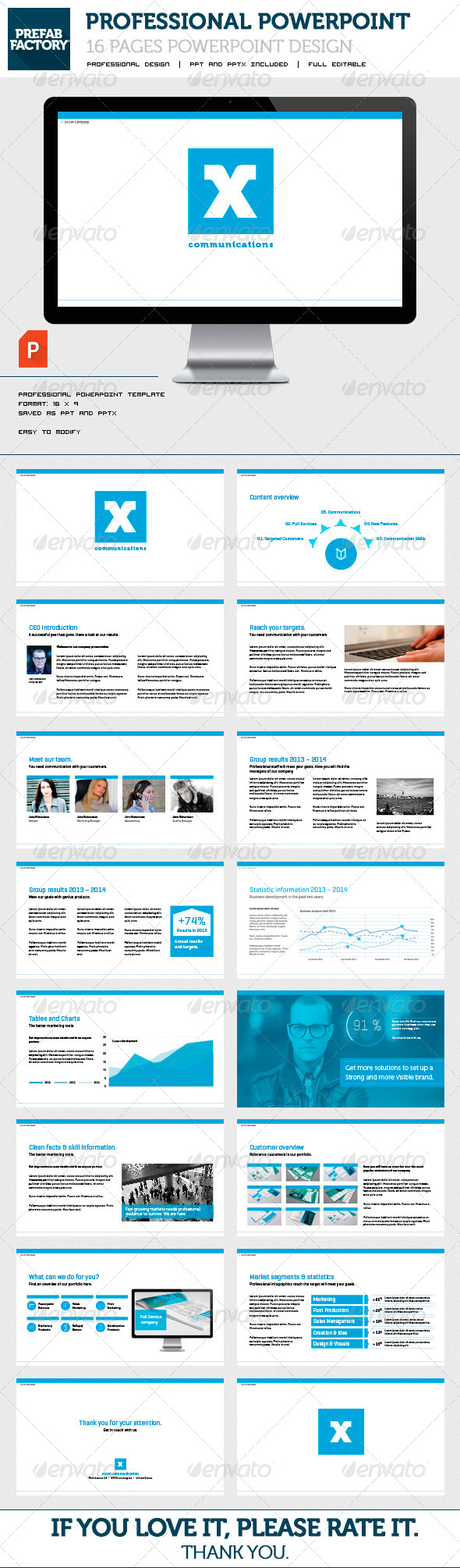 GraphicRiver Business Powerpoint Presentation 5886530