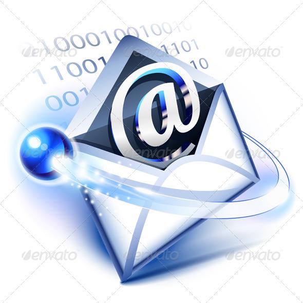 Email - Web Elements Vectors