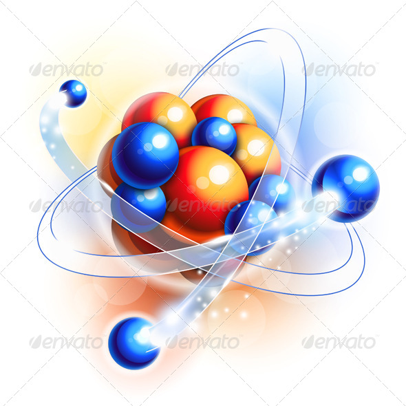 GraphicRiver Molecule Atoms and Particles 5886564