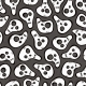 Seamless Pattern with Funny Skulls - GraphicRiver Item for Sale