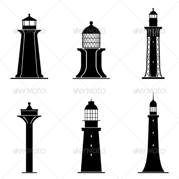 GraphicRiver Light Towers 5886806
