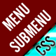 Category menus with SubMenus - FULL CSS - CodeCanyon Item for Sale