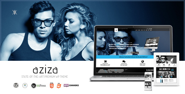 Aziza - Responsive Multipurpose WordPress Theme