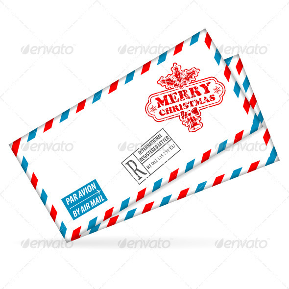 GraphicRiver Christmas Mail 5888314