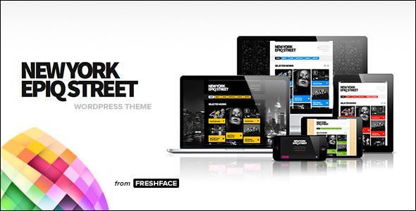 ThemeForest New York Epiq Street Creative WordPress Theme 5839085