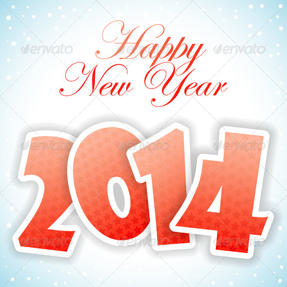 GraphicRiver New Year Greeting Card 5888816