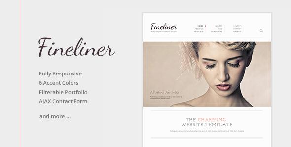 Fineliner - Responsive Portfolio HTML Template