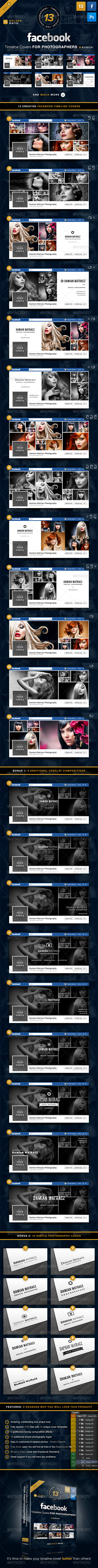 GraphicRiver Facebook Timeline Covers For Photographers Vol 3 5889062