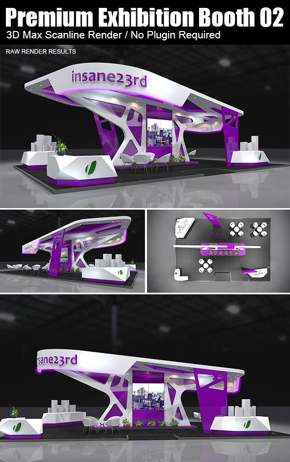 3DOcean Premium Exhibition Booth Design 02 5889305