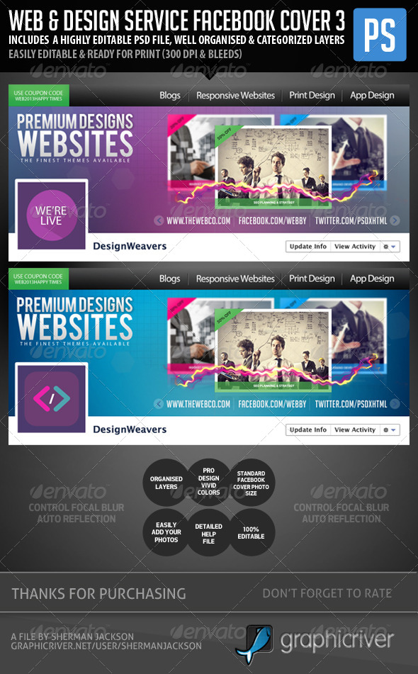 GraphicRiver Web Design Service Facebook Cover Image 3 5889459
