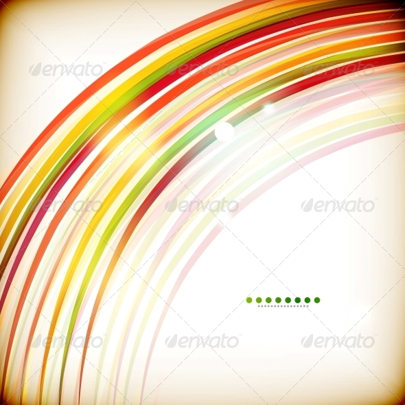 GraphicRiver Colorful Swirl Lines Abstract Background 5889564