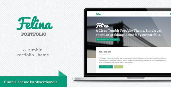 Felina Tumblr Portfolio Theme