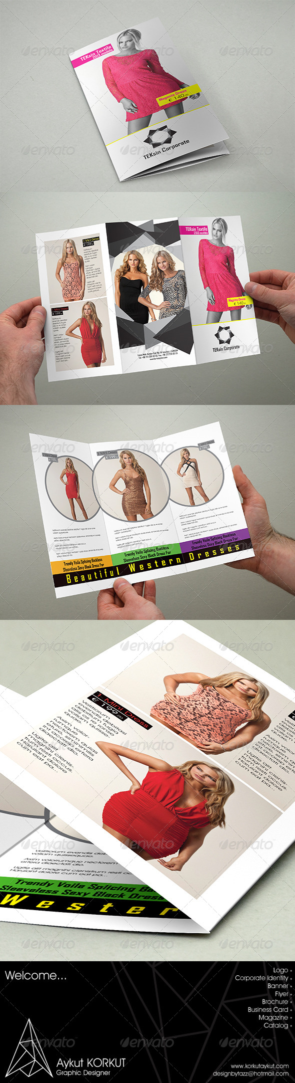 GraphicRiver Teksin Corporate Brochure Template 5889683