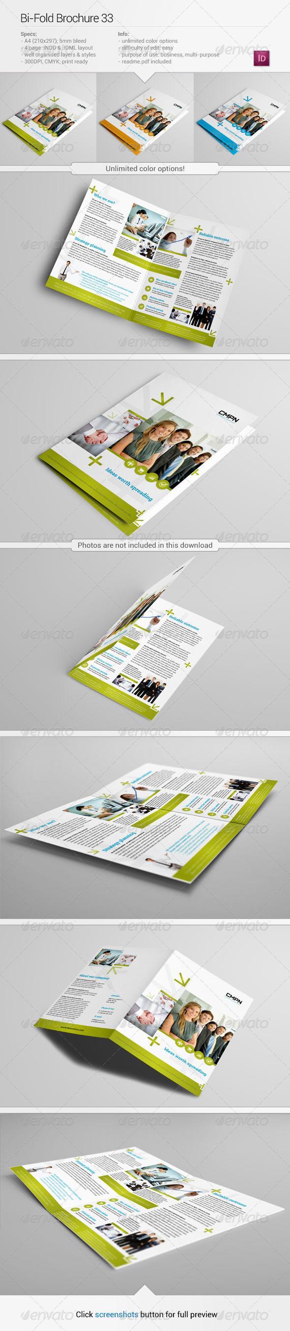 Bi-Fold Brochure 33 - Corporate Brochures