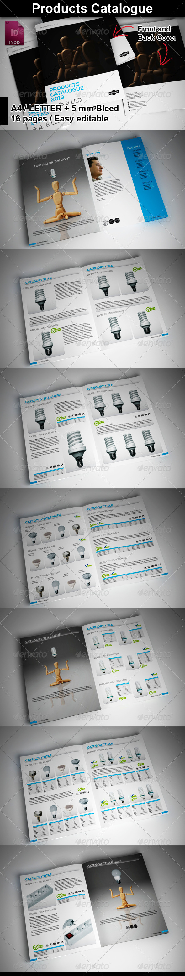 GraphicRiver Products Catalogue 5889914