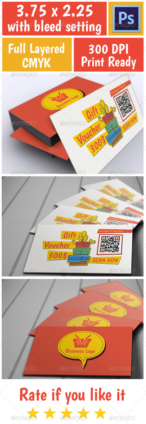 GraphicRiver Voucher Card 1 5890010
