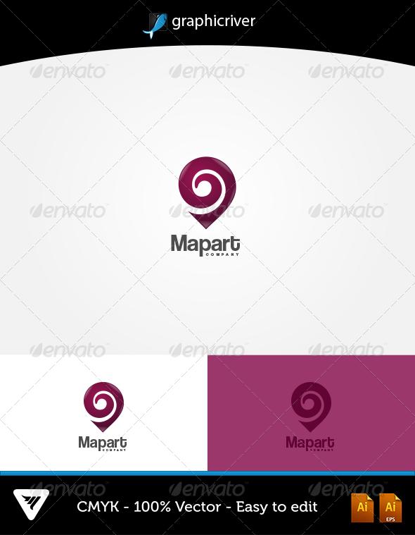 Map Art Logo