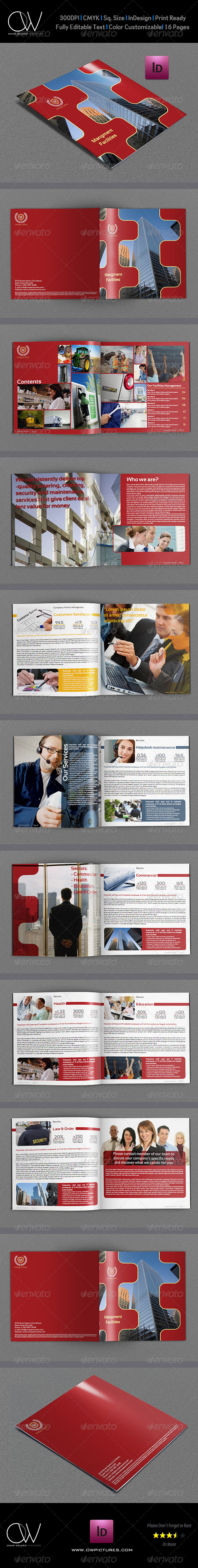 Corporate Brochure Template Vol.11 - 16 Pages - Corporate Brochures
