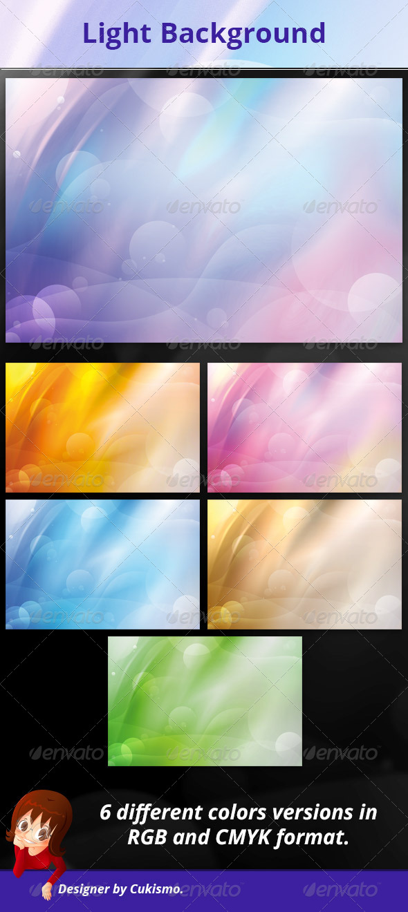 GraphicRiver Light Background 5850426