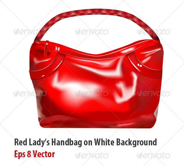 GraphicRiver Girl Handbag 5891205