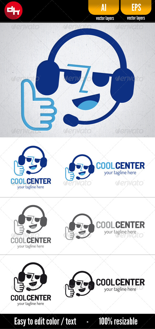 GraphicRiver Cool Center 5891270