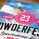 Ski & Snowboard Flyer & Postcard - GraphicRiver Item for Sale