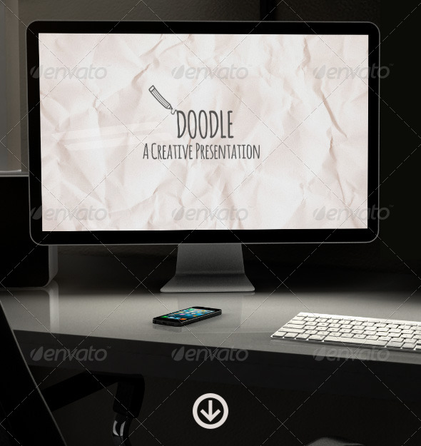 GraphicRiver Doodle Creative Presentation 5892264